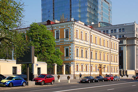 The Ukrainian Academy of Sciences is based in Kiev. Vladimirskaia 54 Kiev 2010 01.JPG