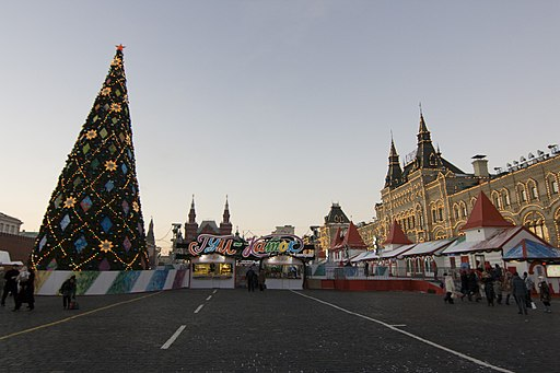 ГУМ-Каток и новогодняя ёлка - panoramio
