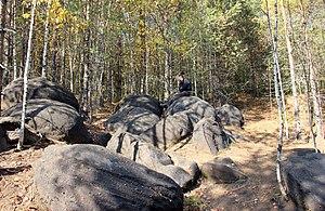 "Kotelnichsky District - Geological Concretions (""Relic balls""), Kotelnichsky District"