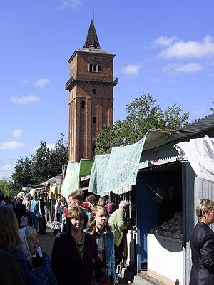 Kimovsk - Market in Kimovsk, 2005