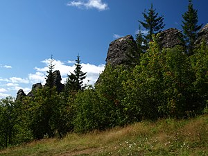 Gornozavodsky District - Rock formations, Kolpaki, Gornozavodsky District