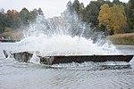 Курсанти-інженери облаштували 120-метрову мостову переправу (30558605685).jpg
