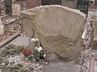 Могила художника Георгия Гольца.JPG