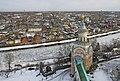 Монастырь Борисоглебский.Вид на Свечную башню,реку Тверца и городские постройки.jpg