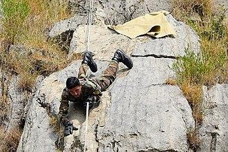 Special Service Group - Image: Первая совместная тренировка по горной подготовке в рамках российско пакистанского тактического учения «Дружба 2016» (6)