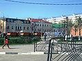Сквер и фонтан на улице Папивина (Клин).jpg