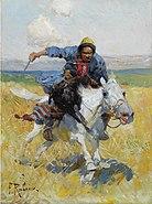 Франц Рубо - Татарский всадник