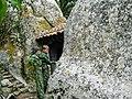Храм печерний «Трьох вершників». Вхід. Село Красний Мак.jpg