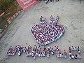 Միասին երիտասարդական շարժման իրականացրած ֆլեշմոբը «Միասին 2011» ֆորումի ընթացքում.jpg