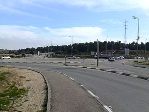 Gush Etzion Junction - Image: כיכר צומת הגוש