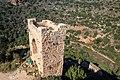 שרידי מגדל במבצר המונפורט.jpg