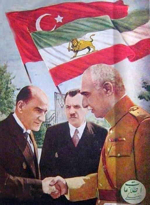 مصطفی کمال آتاترک و رضاشاه Mustafa Kemal Atatürk and Reza Shah