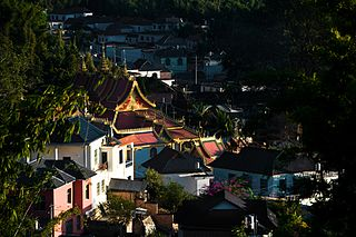 Menghai County Place in Yunnan, Peoples Republic of China