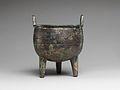 商 青銅鼎-Tripod Cauldron (Ding) MET DP140744.jpg