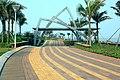 海南国际旅游岛——海口美丽沙岸边休闲步行道景观(西向) - panoramio.jpg