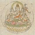 真言諸尊図像抄-Scroll from the Compendium of Iconographic Drawings (Zuzōshō) MET DP234952 (cropped).jpg