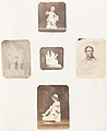 -Figurine of Young Boy Holding Apples; Cabinet Card of a Man; Figurine of a Young Child with a Hat; Sculpture of a Man with Child; Sculpture with Animal- MET DP143498.jpg