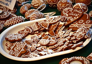 Gingerbread - Gingerbread with royal icing