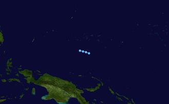 1963 Pacific typhoon season - Image: 03W 1963 track