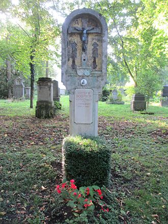 Gottlieb Bodmer - Grave of Gottlieb Bodmer at Alter Südlicher Friedhof in Munich