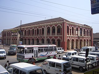 Margao City in Goa, India