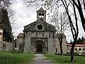 075 Sant Pere de Camprodon, façana oest.JPG