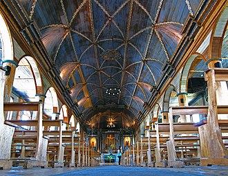Church of Santa María de Loreto, Achao - Image: 08. Achao, Isla de Quinchao (48)