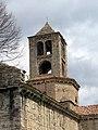 087 Sant Pere de Camprodon, campanar, angle sud-oest.JPG
