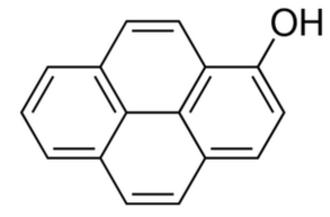 1-Hydroxypyrene - Image: 1 Hydroxypyrene