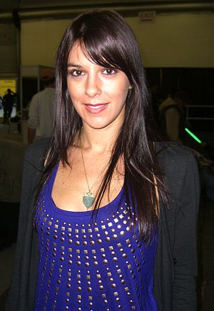 Morasca at the Big Apple Comic Con in Manhattan, October 18, 2009.