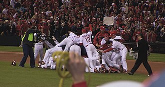 St. Louis Cardinals all-time roster - The 2006 St. Louis Cardinals after winning the World Series.