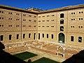 109 Sant Miquel dels Reis (València), pati nord, angle nord-oest, des de la galeria alta.jpg