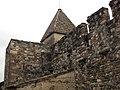 115 Sant Esteve de la Doma, mur nord i campanar.jpg