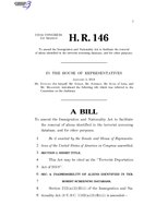 116th United States Congress H. R. 0000146 (1st session) - Terrorist Deportation Act of 2019.pdf