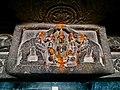 11th century Panchalingeshwara temples group, Kalyani Chalukya, Sedam Karnataka India - 41.jpg