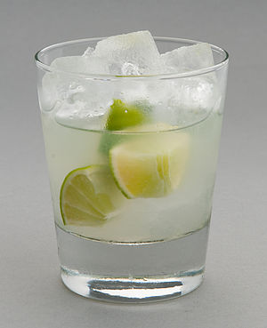 Caipirinha - Studio photo of a caipirinha