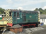 15224 at Spa Valley Railway, Tunbridge Wells West depot.jpg