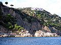 160 Punta de n'Aromir i sa Canal, al fons Salionç (Tossa de Mar).JPG