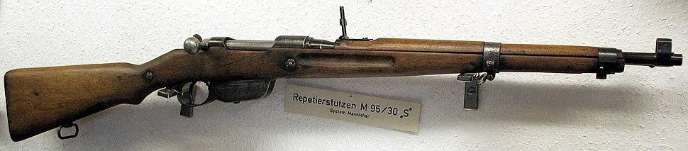 Mannlicher M1895 - Howling Pixel