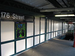 176th St. Station on the 4 Train.JPG