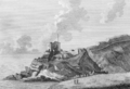 1786 engraving of St Catherine's Castle.png