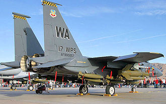 17th Weapons Squadron - 17th Weapons Squadron - McDonnell Douglas F-15E-50-MC Strike Eagle 90-0257