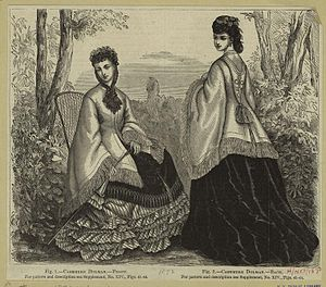 Mantle (clothing) - Image: 1871 dolman