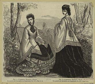 Mantle (clothing) - Image: 1871 dolman