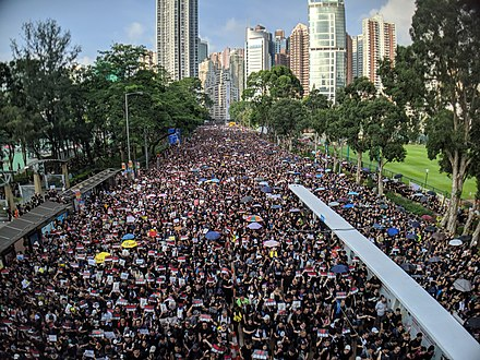 190616 HK Protest Incendo 03., From WikimediaPhotos