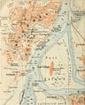 1914 map Omdurman Sudan by Baedeker.png