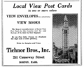 1916 Tichnor Bros advert Causeway Street Boston.png