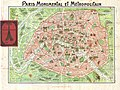 1920 Robelin Map of Paris, France - Geographicus - Paris-robelin-1920.jpg