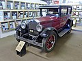 1926 Buick Model 20-26 Coach, National Road Transport Hall of Fame, 2015.JPG