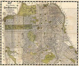 San Francisco Recreation & Parks Department - Map of San Francisco in 1932.